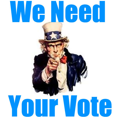 we need your vote_uncle Sam